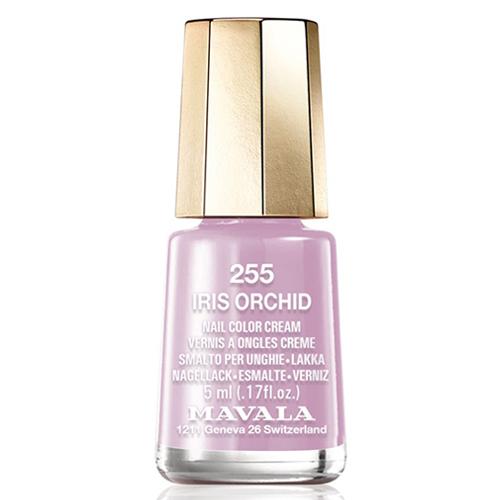 Светлый сиреневый лак для ногтей Mavala Mavala Nail Color Cream 255 Iris Orchid mavala набор комплекс 3 mavala nail care 1 2 3 manicure a 11 072 1 шт