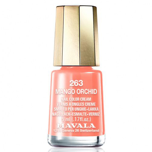 Лак для ногтей Mavala Mavala Nail Color Cream 263 Mango Orchid mavala набор комплекс 3 mavala nail care 1 2 3 manicure a 11 072 1 шт