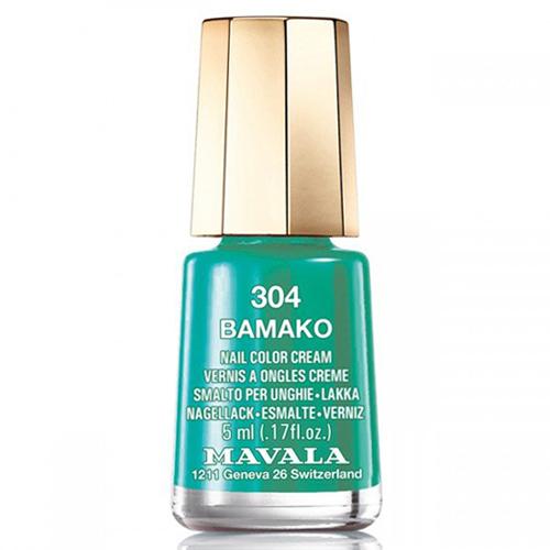 Лак для ногей изумрудно-бирюзовый Mavala Mavala Nail Color Cream 304 Bamako mavala набор комплекс 3 mavala nail care 1 2 3 manicure a 11 072 1 шт