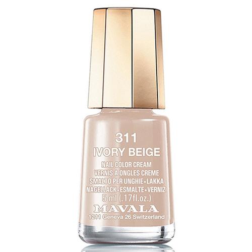 Лак для ногтей серый беж Mavala Mavala Nail Color Cream 311 Ivory Beige mavala набор комплекс 3 mavala nail care 1 2 3 manicure a 11 072 1 шт
