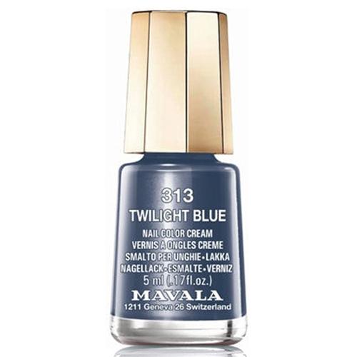Лак для ногтей пыльно-синий Mavala Mavala Nail Color Cream 313 Twiligt Blue mavala набор комплекс 3 mavala nail care 1 2 3 manicure a 11 072 1 шт