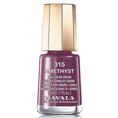 Ягодный лак для ногтей Mavala Mavala Nail Color Cream 315 Amethyst mavala набор комплекс 3 mavala nail care 1 2 3 manicure a 11 072 1 шт