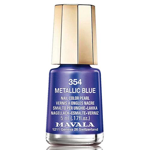 Лак для ногтей без вредных компонентов Mavala Mavala Nail Color Cream 354 Metallic Blue mavala лак для ногтей оттоман mavala mini color ottoman 9091257 5 мл