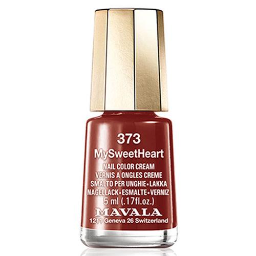 Лак для ногтей бордовый Mavala Mavala Nail Color Cream 373 My Sweet Heart mavala набор комплекс 3 mavala nail care 1 2 3 manicure a 11 072 1 шт