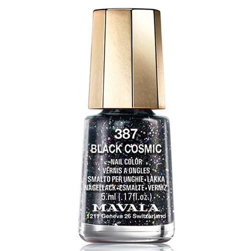Лак для ногтей без вредных компонентов с блёстками Mavala Mavala Nail Color Cream 387 Black Cosmic указатель ветра малый duckdog увм 10365 387 800х250мм