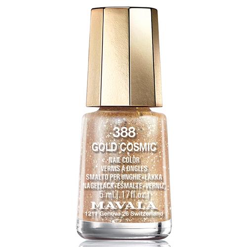 Золотистый лак для ногтей Mavala Mavala Nail Color Cream 388 Gold Cosmic лак для ногтей mavala cosmic nail collection holiday 2017 391 цвет 391 pink variant hex name f2005b