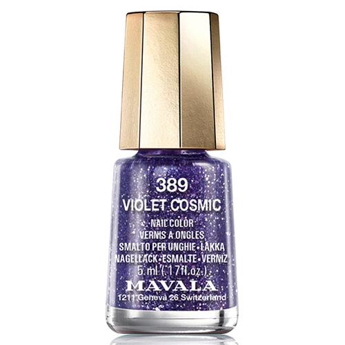 Песочный фиолетовый лак Mavala Mavala Nail Color Cream 389 Violet Cosmic лак для ногтей mavala cosmic nail collection holiday 2017 391 цвет 391 pink variant hex name f2005b