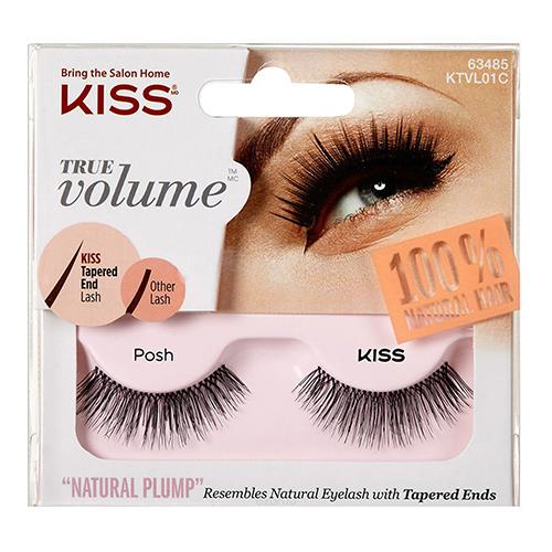 Накладные остроконечные ресницы Kiss True Volume Lash Posh
