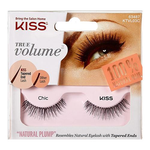 Густые накладные ресницы Kiss True Volume Lash Chic