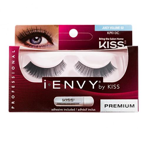 Накладные ресницы Элегантность Kiss I-Envy Eyelashes Juicy Volume Элегантность kiss накладные ресницы очарование kiss ienvy eyelashes au naturale 01 kpe08c 1 уп