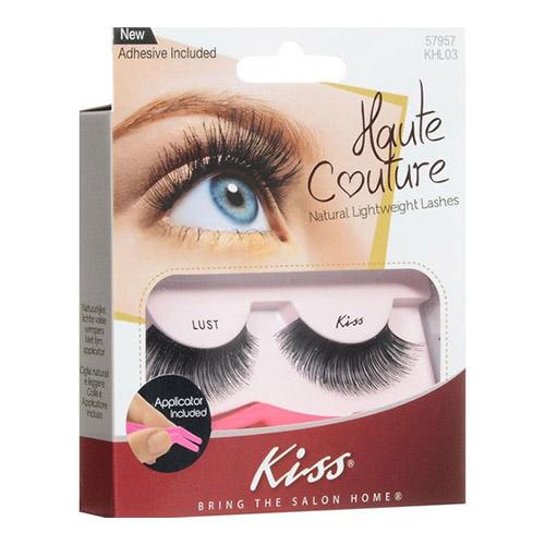 Густые накладные ресницы Kiss Haute Couture Single Lashes Lust