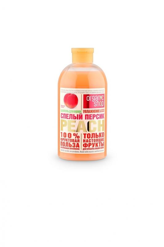 Гель для душа спелый персик Organic Shop OS гель для душа спелый персик