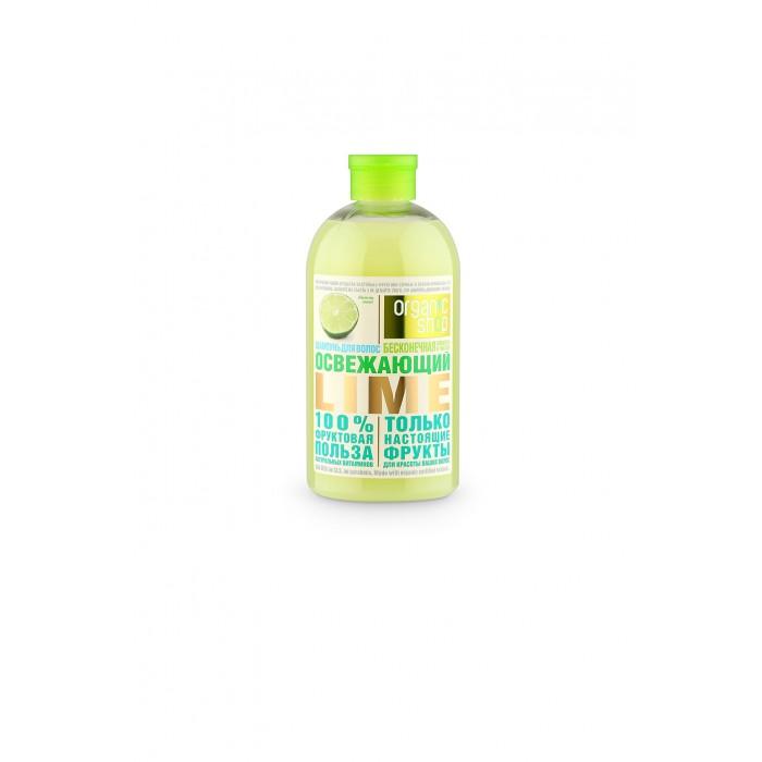 Шампунь для волос освежающий лайм Organic Shop