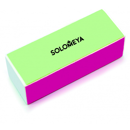 Четырехсторонний блок-полировщик для ногтей Solomeya