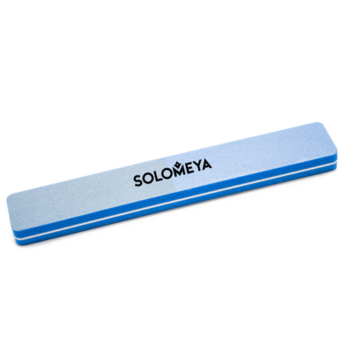 Буффер-шлифовщик для ногтей голубой Solomeya Square Sanding Sponge Blue 180/180 velo replacement sponge pu bicycle saddle black blue