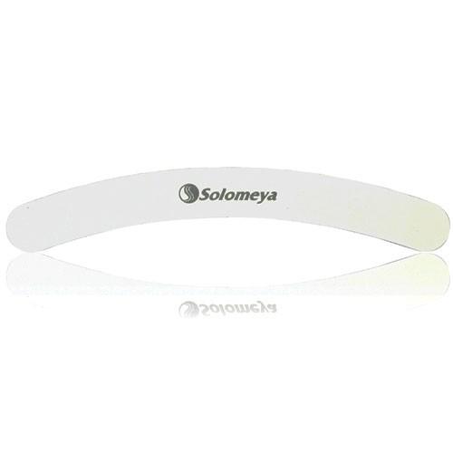 Пилка для ногтей Бумеранг Solomeya Curved White File 100/180 solomeya пилка для ногтей сердечки file hearts