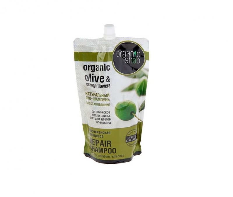 Шампунь против выпадения волос Organic Shop