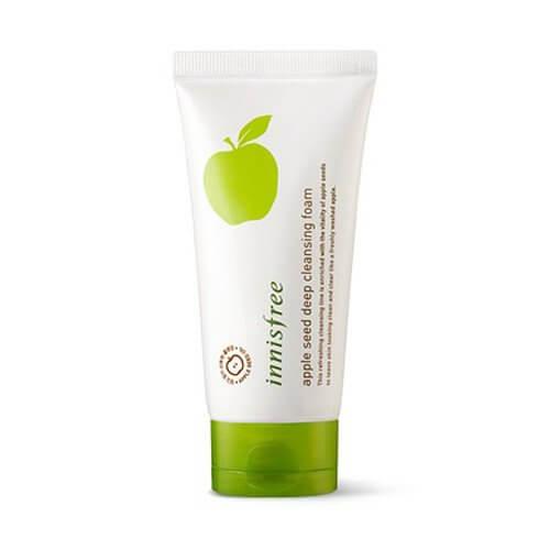 Пенка для умывания с экстрактом яблока Innisfree Apple Seed Deep Cleansing Foam