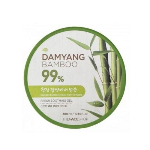 Освежающий гель с экстрактом бамбука The Face Shop Damyang Bamboo Fresh Soothing Gel гели llang универсальный гель с экстрактом рапсового меда on the skin soothing gel canola honey