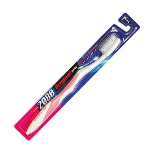 где купить Зубная щетка стандартной формы со сверхтонкими щетинками Kerasys DC 2080 Original Toothbrush Ultrafine дешево