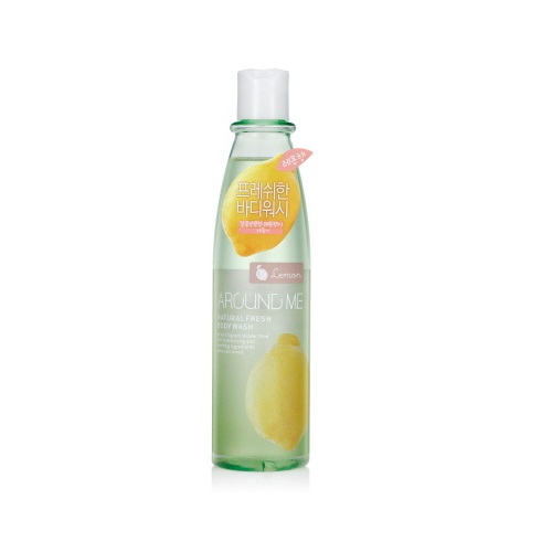 Гель для душа с лимоном Welcos Around Me Natural Fresh Body Wash