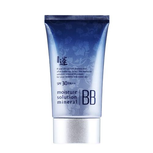 Увлажняющий BB крем Welcos Lotus Moisture  Solution Mineral BB Cream