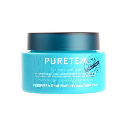 Крем для лица и шеи с алоэ Welcos Puretem Purevera Real Moist Cream Super Size крем gigi moist cream