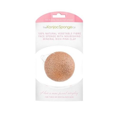 Конжак с розовой глиной прекрасно ухаживает за чувствительной кожей. The Konjac Sponge Company