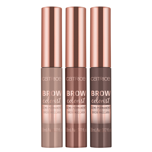 все цены на Полуперманентная гелевая тушь для бровей Catrice Brow Colorist Semi-Permanent Brow Mascara онлайн