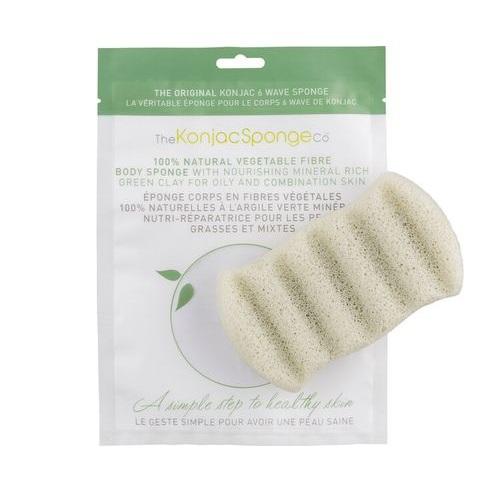 Спонж предназначен для ухода за жирной кожей. The Konjac Sponge Company