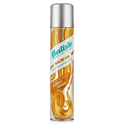 Спрей скрывает отросшие корни и освежает внешний вид прически Batiste Batiste Light Brilliant Blonde Dry Shampoo