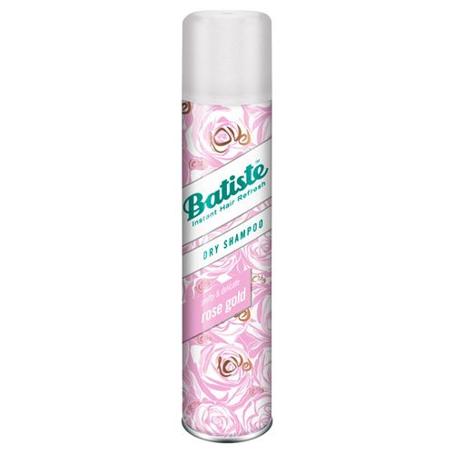 Сухой шампунь для придания свежего вида волосам Batiste Batiste Rose Gold Dry Shampoo batiste rose gold объем 200 мл