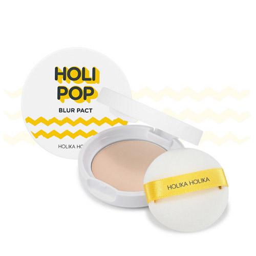 Пудра с эффектом размытия для ровной и гладкой кожи Holika Holika Holipop Blur Pact holika holika кремholipopblur выравнивающийрельеф 30мл