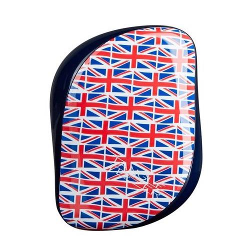 Миниатюрная расческа с функцией стимулирования кровообращения Tangle Teezer Tangle Teezer Compact Styler Cool Britannia расческа для волос compact styler cool britannia