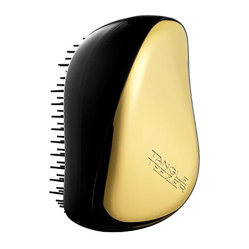 Миниатюрная расческа с крышкой для поездок и путешествий Tangle Teezer Tangle Teezer Compact Styler Gold Rush расческа tangle teezer compact styler hello kitty pink 1 шт