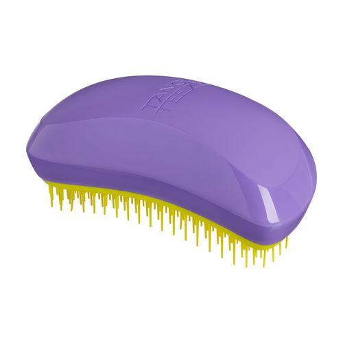 Миниатюрная расческа в стильном дизайне для поврежденных и пористых волос Tangle Teezer Tangle Teezer Salon Elite Purple and Yellow tangle teezer расческа для волос желтая salon elite highlighter collection yellow