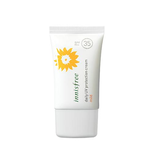 Солнцезащитный крем для лица Innisfree Daily UV Protection Cream Mild освежающий крем для жирной кожи innisfree green tea fresh cream