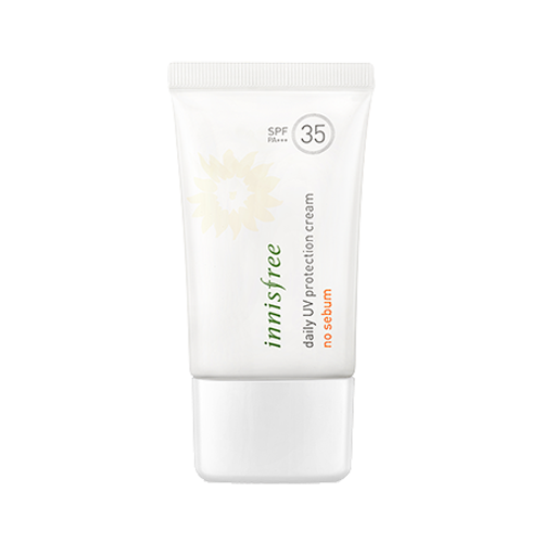 Матирующий солнцезащитный крем для лица Innisfree Daily UV Protection Cream No Sebum