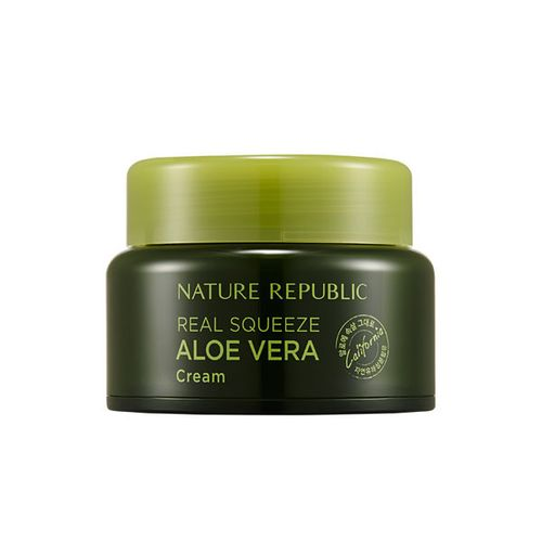 Крем для лица с алоэ Nature Republic Real Squeeze Aloe Vera Cream nature republic honey