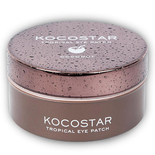 Гидрогелевые патчи для кожи вокруг глаз с экстрактом кокоса Kocostar Tropical Eye Patch Coconut 50pairs lot emergency supplies ecg defibrillation electrode patch prompt aed defibrillator trainer accessories not for clinical