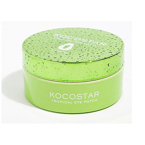 Гидрогелевые патчи для кожи вокруг глаз с экстрактом папайи Kocostar Tropical Eye Patch Papaya 50pairs lot emergency supplies ecg defibrillation electrode patch prompt aed defibrillator trainer accessories not for clinical
