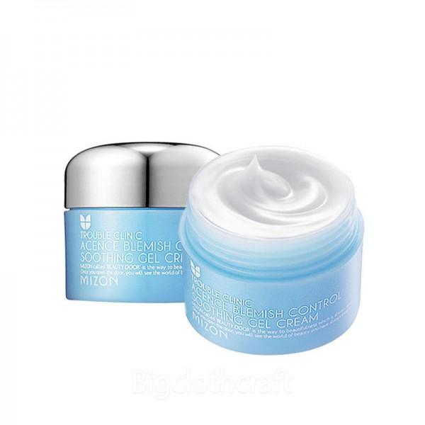 Крем-гель для проблемной кожи Mizon Acence Blemish Control Soothing Gel Cream гель lavera sos blemish control organic mint zinc