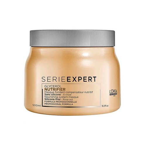 Маска для сухих волос L'oreal Professionnel Nutrifier Nourishing System Silikon-Free Melting Masque 500ml dentyl active alcohol free mouthwash 500ml