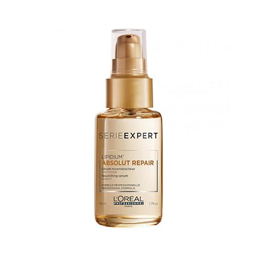 Двухфазная сыворотка для восстановления волос L'oreal Professionnel Lipidium Absolut Repair Nourishing Serum 50ml guinot 50ml