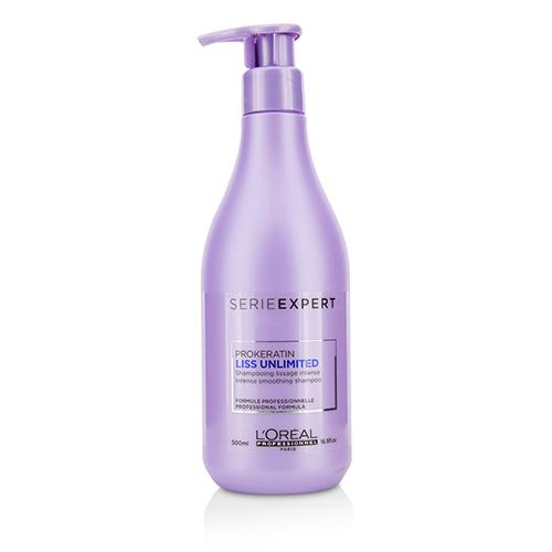 Разглаживающий шампунь с кератином L'oreal Professionnel Liss Unlimited Prokeratin Intense Smoothing Shampoo 500ml шампунь barex smoothing shampoo magnolia