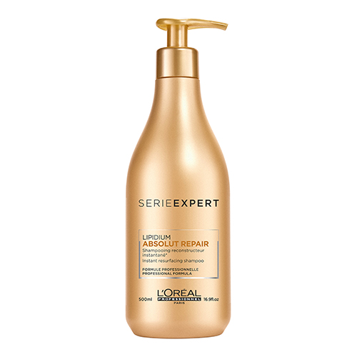 Шампунь для сильно поврежденных волос L'oreal Professionnel Lipidium Absolut Repair Instant Resurfacing Shampoo 500ml n2o y3174 6х14 4х98 d58 6 et38 bfp