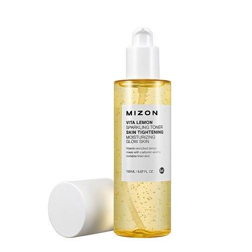 Витаминный тонер Mizon Vita Lemon Sparkling Toner пилинг mizon pore control peeling toner