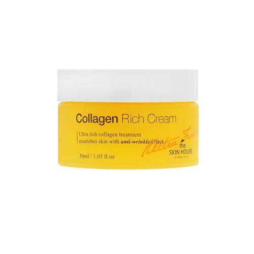 Крем для лица с коллагеном The Skin House Ultra Firming Collagen Rich Cream the skin house ultra firming collagen rich cream питательный коллагеновый крем от морщин 30 мл
