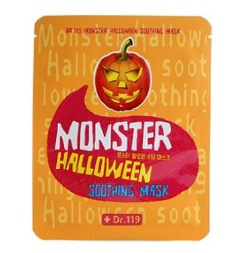 успокаивающая тканевая маска Baviphat Dr.119 Monster Halloween Soothing Mask monster printed halloween decor head mask page 8