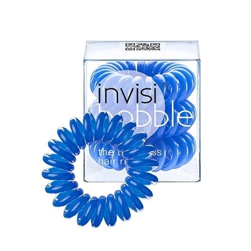 Резинка для волос, не вырывающая волосы Invisibobble Invisibobble Navy Blue брюки alcott s12623uoss17 blue navy